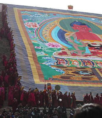 正月十三瞻佛法会活动