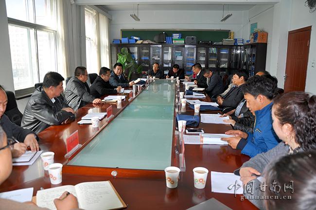 省十三五文化产业发展规划编制组来甘南州调研工作