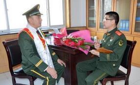 """记""""全国优秀人民警察""""迭部县公安消防大队大队长班玛南加"""