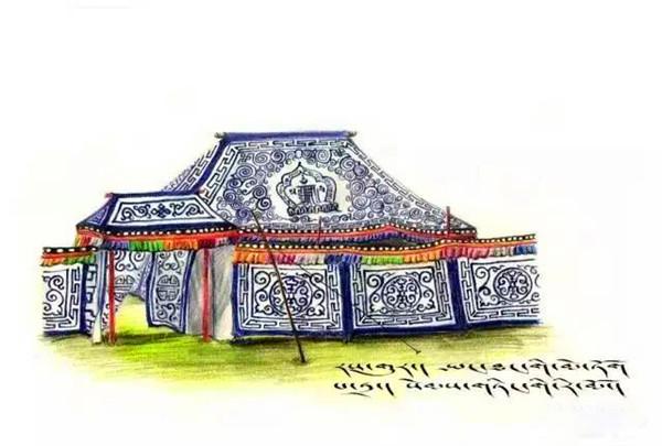 玛曲90后女孩原创手绘明信片|画笔中的藏区故事