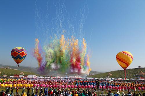 第十八届中国?九色甘南香巴拉旅游艺术节在合作盛大开幕