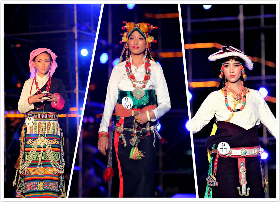 中国首届藏模大赛(组图五)