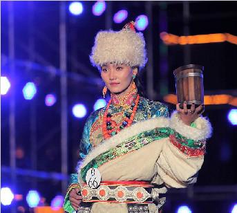 中国首届藏模大赛(组图三)
