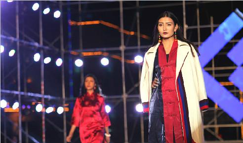 中国首届藏模大赛(组图一)