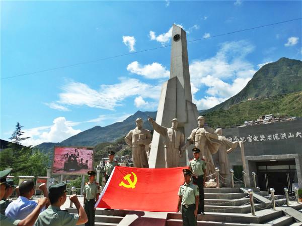 """甘南各县市积极开展""""庆八・一""""慰问驻军活动"""