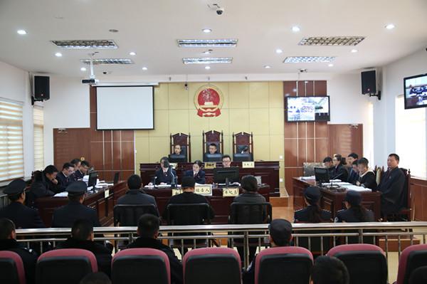 甘南州第一起涉黑涉恶案件在夏河县人民法院开庭审理