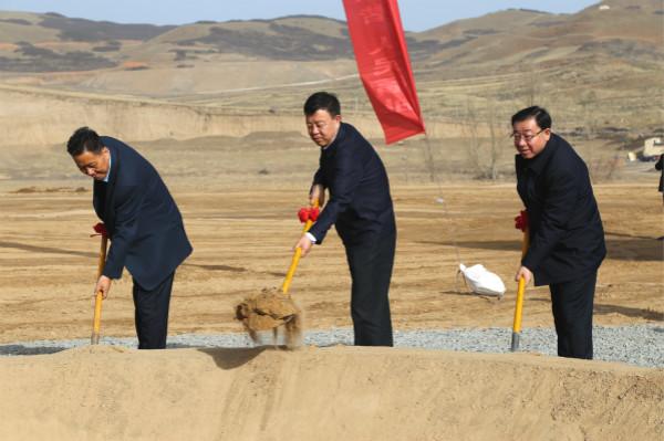 甘南州文旅会展中心项目开工  俞成辉宣布开工令 赵凌云讲话 杨宇宏致辞