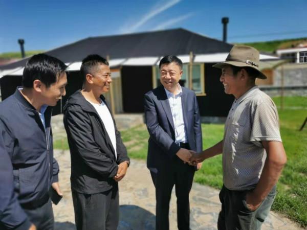 俞成辉:着力打造213国道沿线旅游专业村集群