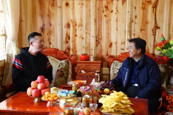 安锦龙看望慰问临潭县部分宗教界人士和专业技术人才