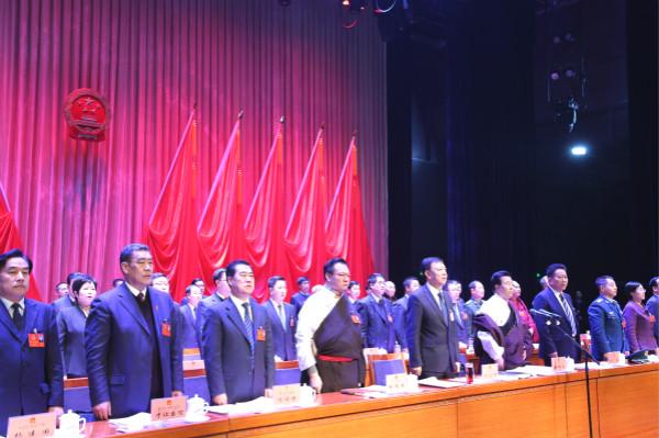 甘南州第十六届人大第四次会议隆重开幕  俞成辉出席 安锦龙主持 赵凌云作《政府 工