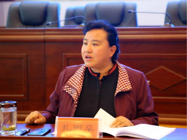 第二十届九色甘南香巴拉旅游艺术节系列活动推进会在合作召开
